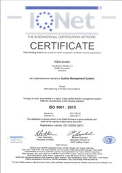 ISO 9001-2015 I-QNet